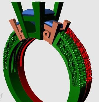 Design Images of Princess Cut Engagement Rings