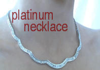 10 carat Diamond Necklace in Platinum