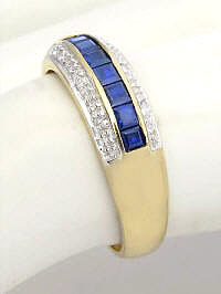 Affordable Sapphire Wedding Ring