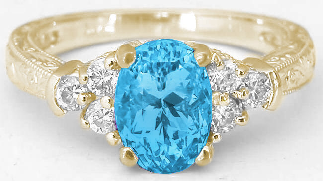 Image result for blue topaz jewelry