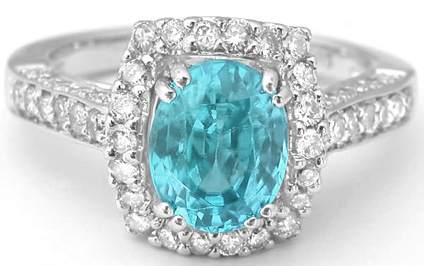 zircon blue ring diamond jewelers mardon jewelry
