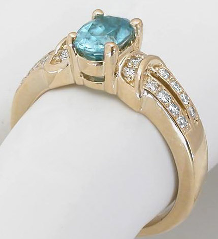 finger middle with jewelry and lel curve diamond blue ring tone products zircon marquise two