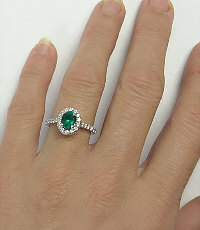 Fine Emerald Ring in Gold