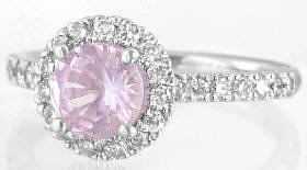 Light Pink Sapphire for Engagement Ring