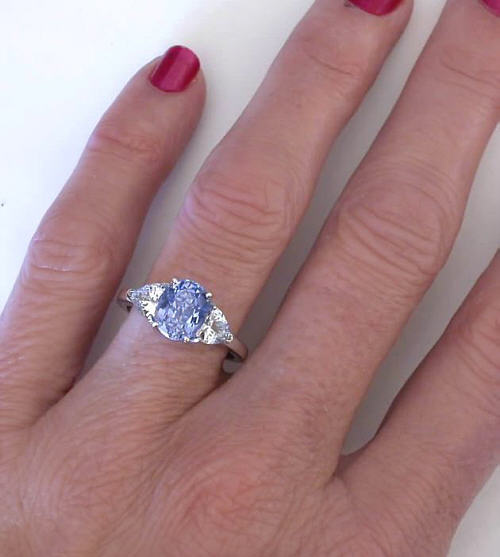 Tasmanian Sapphire Ring
