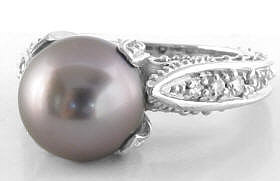 One of a Kind Tahitian Pearl Ring