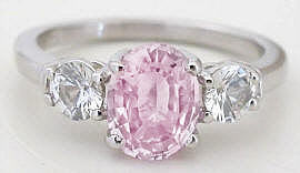 Pink Diamond Alternative Engagement Rings