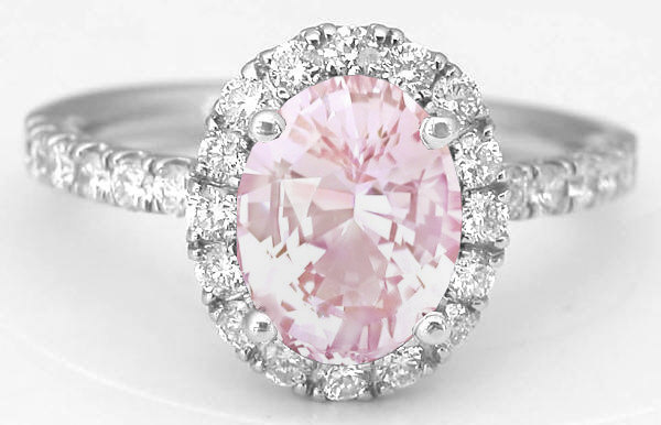 ideas diamond pinterest light on engagement of best fresh pink rings