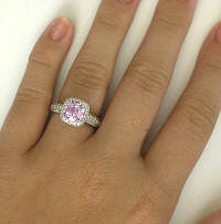 One of a Kind Pink Sapphire Rings for Sale