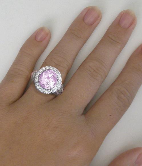 Light Pink Stone Ring