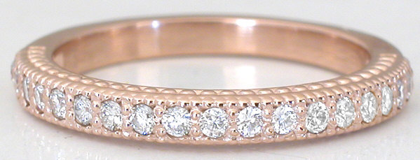 b18bf591e011d Delightful 1.89 ctw Pink Sapphire and Diamond Engagement Ring in 14k rose  gold