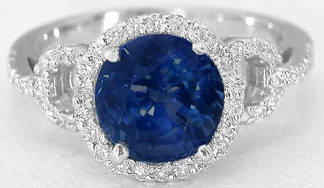 Sapphire from Piece of Britney Jewelry