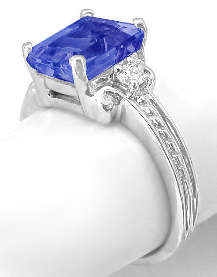 ring for wedding emerald cut tanzanite rings gr 7097 7097