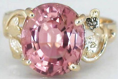 Light Pink Tourmaline Rings