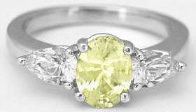 Yellow Sapphire Ring for Sale