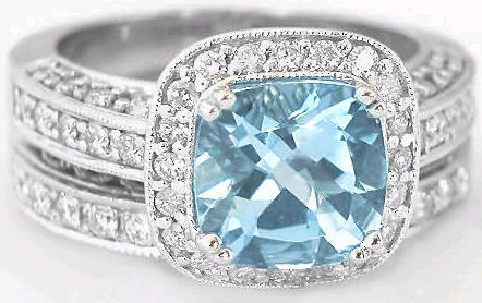 closeup rings aquamarine wiki engagement ring of aqua