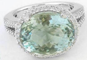large gemstone engagement rings