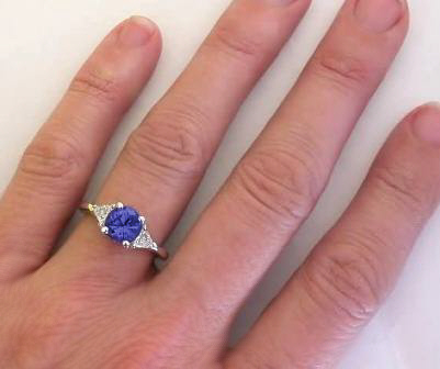 ring with jewelers wixon cut emerald tanzanite jewelry engagement diamond halo rings