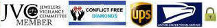 conflict diamond free jewelry and JVC member