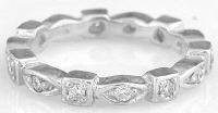 Eternity Band with Marquise and Square Pattern