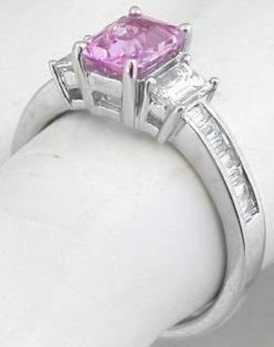 Pink Sapphire Jewelry - Sapphires - Heavenly Treasures: Shop for