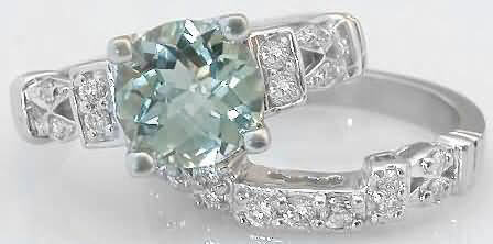 8mm green amethyst engagement rings ...