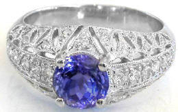 Natural Tanzanite Rings
