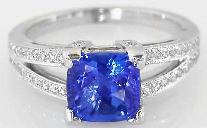 investment quality tanzanite gemstones certified top faceted aaa