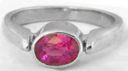 Rubellite Tourmaline Ring in 14k